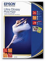 Бумага Epson S041944 Premium Ultra Glossy Photo Paper 13x18, 300 г/м2 50л.