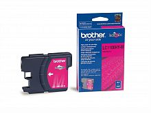 Картридж Brother LC1100HYM (пурпурный) для DCP-185C/DCP-385C/DCP-6690CW, MFC-490C/MFC-6890CN (900 стр.)