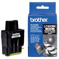 Картридж Brother LC900 Bk (черный) DCP-110C/DCP-115C/DCP-117C/DCP-120C/DCP-310CN/DCP-315CN/DCP-340CW, MFC-210C/MFC-215C/MFC-410CN/MFC-425CN/MFC-620CN/MFC-640CW/MFC-820CW/MFC-3240C/MFC-3340CN/MFC-5440CN/MFC-5840CN, FAX-1835C/FAX-1840C/FAX-1940CN/2440C