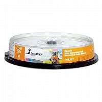 CD-R SmartTrack 700Mb 52x Printable Cake Box 10шт