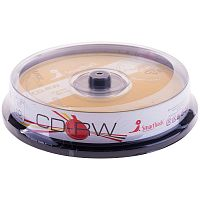 CD-RW SmartTrack 700Mb 4x-12x Cake Box 10шт