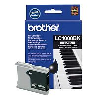 Картридж Brother LC1000 Bk (черный) DCP-130C/DCP-330C/DCP-350C/DCP-353C/DCP-357C/DCP-540CN/DCP-560CN/DCP-750CW/DCP-770CW, MFC-240C/MFC-440CN/MFC-465CN/MFC-660CN/MFC-680CN/MFC-885CW/MFC-3360C/MFC-5460CN/MFC-5860CN, FAX-1355/FAX-1360