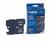 Картридж Brother LC1100Bk (черный) для DCP-185C/DCP-385C/DCP-6690CW, MFC-490C/MFC-6890CN (500 стр.)