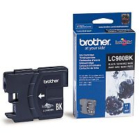 Картридж Brother LC980Bk (черный) DCP-145C/DCP-165C/DCP-195C/DCP-375CW, MFC-250C/MFC-290C/MFC-295CN/MFC-297C (300 стр.)