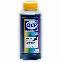 Чернила OCP BKP 249 для HP №10/88, №178, №21/№27/№56/№121/№122/№129/№131/№132/№140/№711/№901/№920 Black (100мл) Pigment для HP Officejet Pro K5300/PS D5460